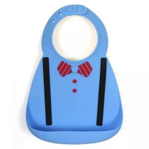 Other - Waterproof Easy to Wash Silicone Baby Bibs